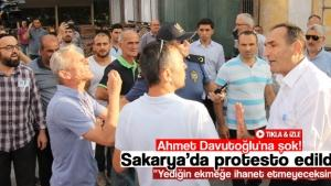 Ahmet Davutoğlu'na şok!