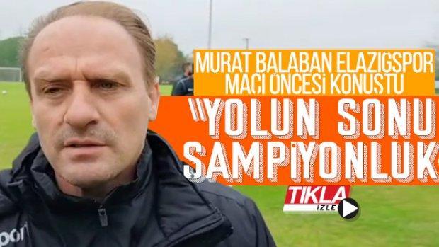 """Sakaryaspor Teknik Direktörü Murat Balaban; """"Yolun sonu şampiyonluk"""""""
