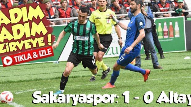 Sakaryaspor Altay maç özeti