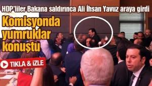 HDP'liler Bakana saldırınca Ali İhsan Yavuz araya girdi