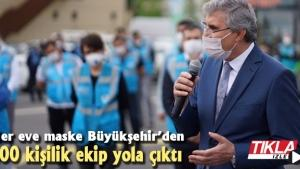 Her eve maske Büyükşehir'den!