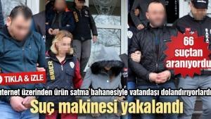 Sakarya'da internet dolandırıcıları yakalandı