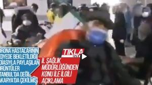 Görüntüler İstanbul'da değil Sakarya'da çekilmiş