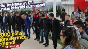 Polis Teşkilatı'nın 174. kuruluş etkinliği düzenlendi