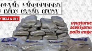 Sakarya'da uyuşturucu sevkiyatına polis engeli