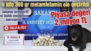 Sakarya tarihinin en büyük uyuşturucu operasyonu!