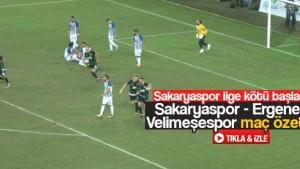 Sakaryaspor - Ergene Velimeşespor maç özeti