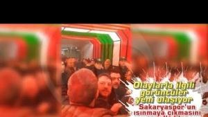 Sakaryaspor'un ısınmaya çıkmasını engellediler