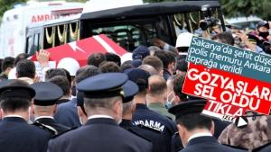 Şehit Mehmet Tekcan Ankara'da toprağa verildi