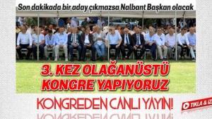 Sakaryaspor Kongresinden canlı yayın