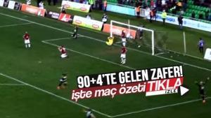 Sakaryaspor - Bandırmaspor maç özeti!