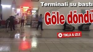 Sakarya Büyükşehir Terminalini su bastı!